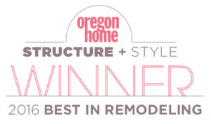 Oregon Home Structure + Style Winner 2016 Best in Remodeling