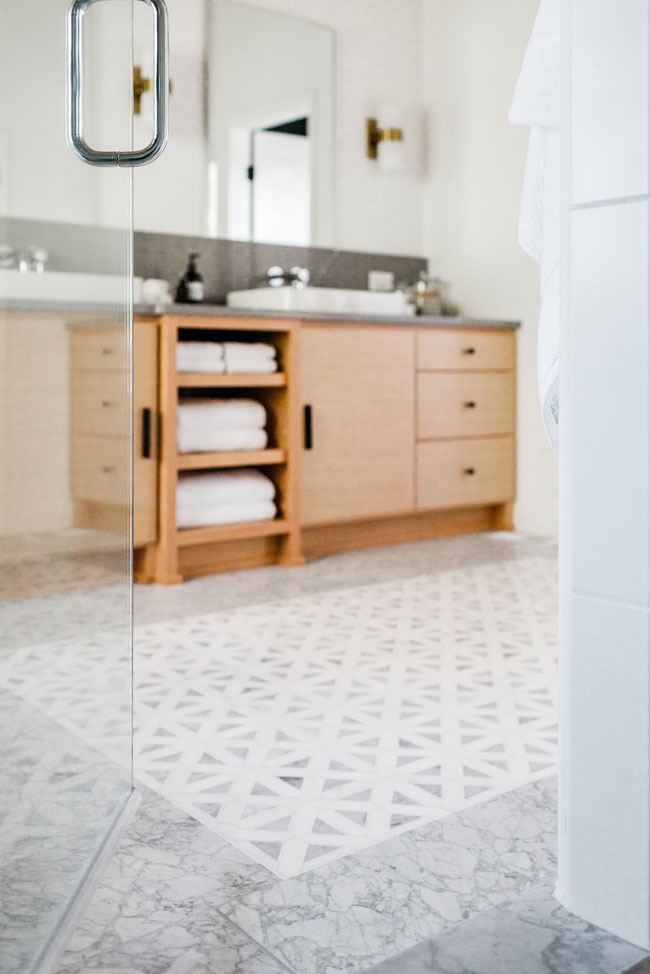 Master Bath construction by Sitka Projects